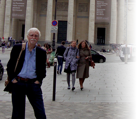 John Perrault at the Pantheon
